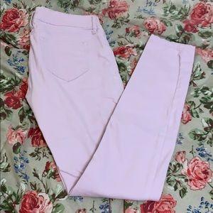 Refuge Pastel Lilac Colored Skinny Jeans